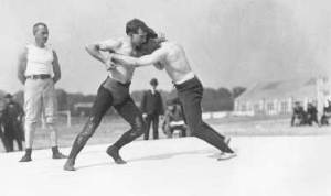Wrestling_match_during_1904_Summer_Olympics