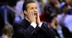 John Calipari+Kentucky Coach+Basketball+Final Four+Disbelief+Shock+Loses to Wisconsin+Communication Expert+Body Language Expert+Speaker+Keynote+Consultant+