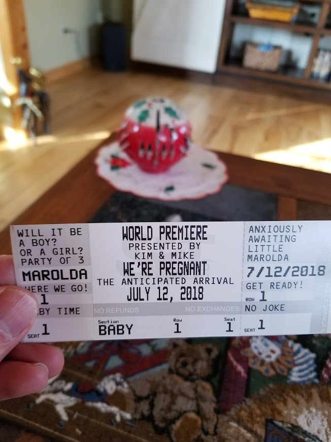 Pregnant ticket