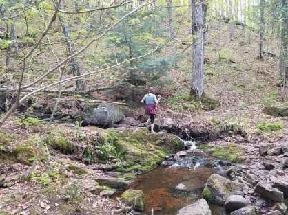 hike brook crossing