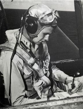 George_H.W._Bush_seated_in_a_Grumman_TBM_Avenger,_circa_1944_(H069-13)
