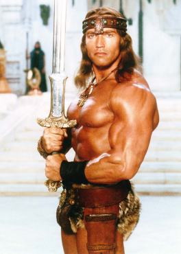 Arnold-Schwarzenegger-title-character-Conan-the-Destroyer